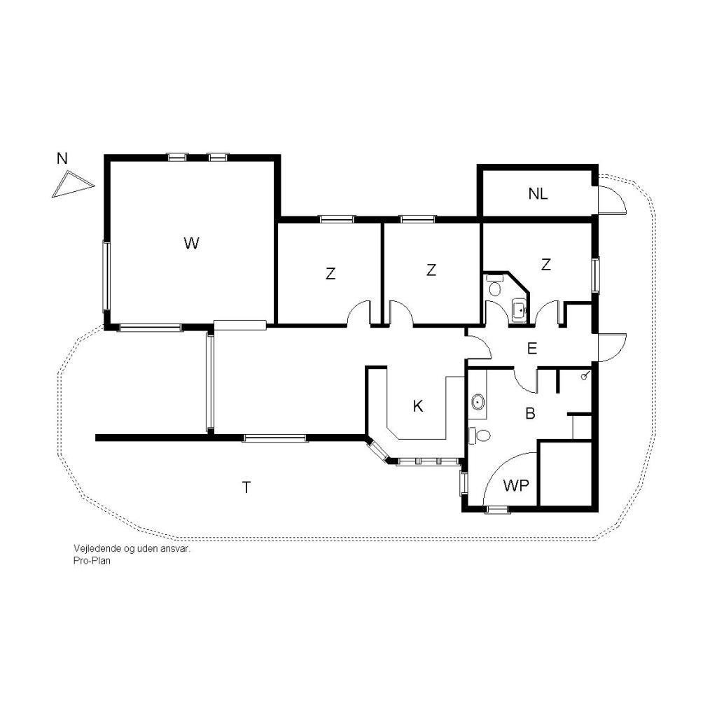 Ferienhaus 681 - Strandfogedvej  9 A