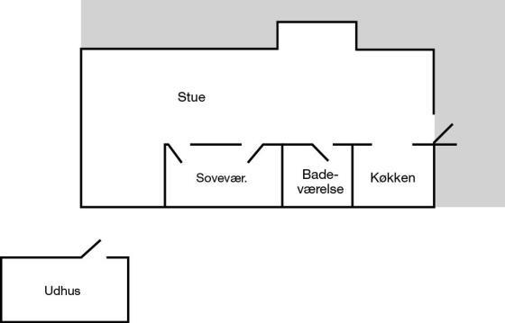 Feriehus 702, Alstrup 15 C, Landsbyerne